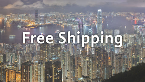 Free shipping in Hong Kong