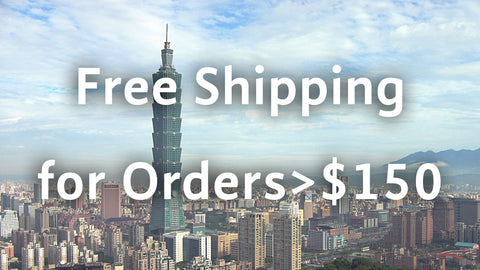 macau and taiwan free shipping