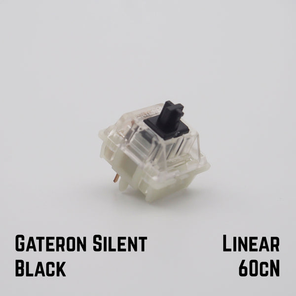 gateron silent black