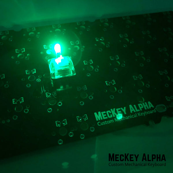 Green 3mm in-switch LED