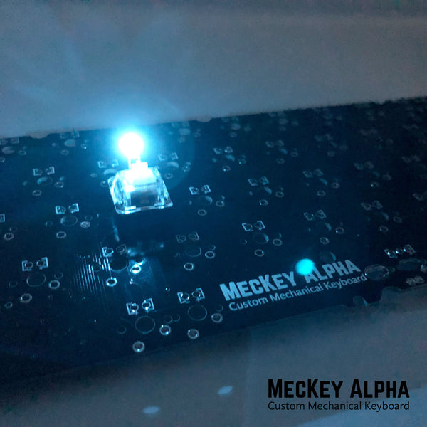 Ice blue 3mm in-switch LED