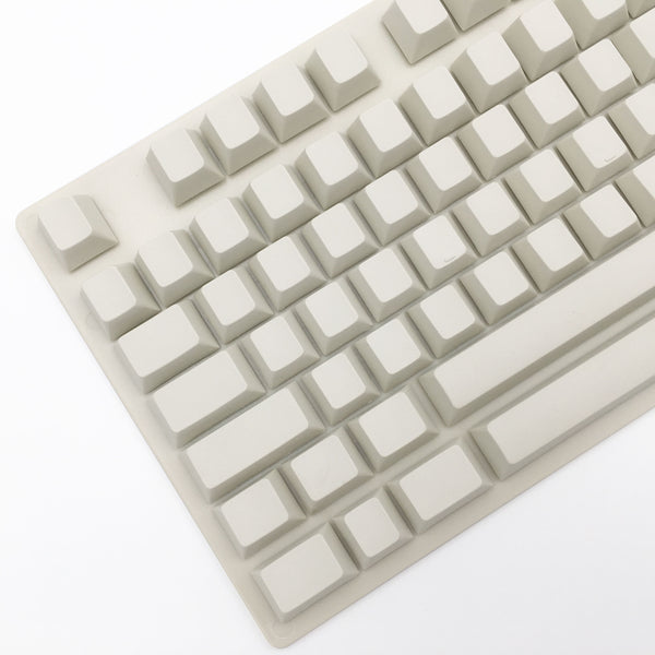 enjoypbt blank keycap set milk