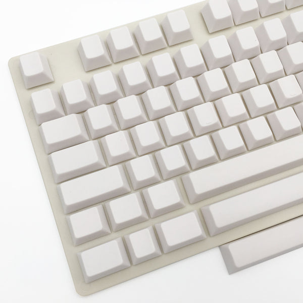 enjoypbt blank keycap set white