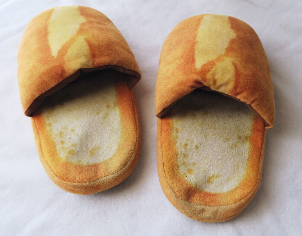 Bread Slippers, accessory - Hazy Lines