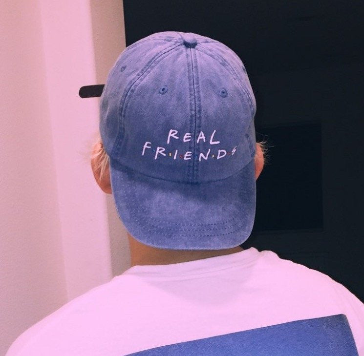 Real Friends Cap, accessory - Hazy Lines