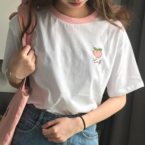Harajuku Fruits Ringers Tee