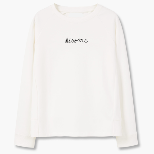 Kiss Me Sweatshirt, apparel - Hazy Lines