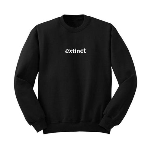 Extinct Internet Explorer Sweater, apparel - Hazy Lines