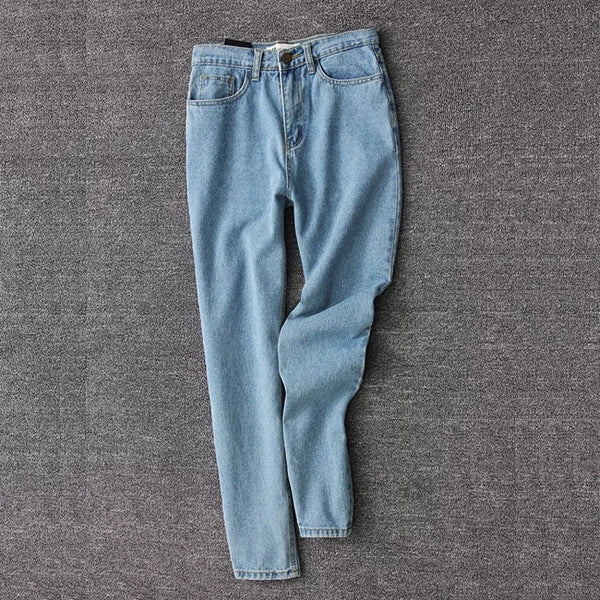 High Waisted Mom Jeans, apparel - Hazy Lines