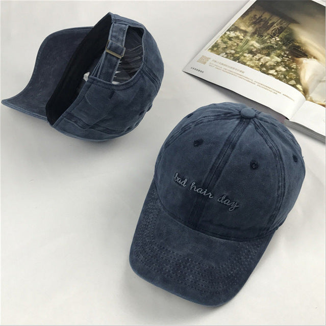 Bad Hair Day Cap, apparel - Hazy Lines