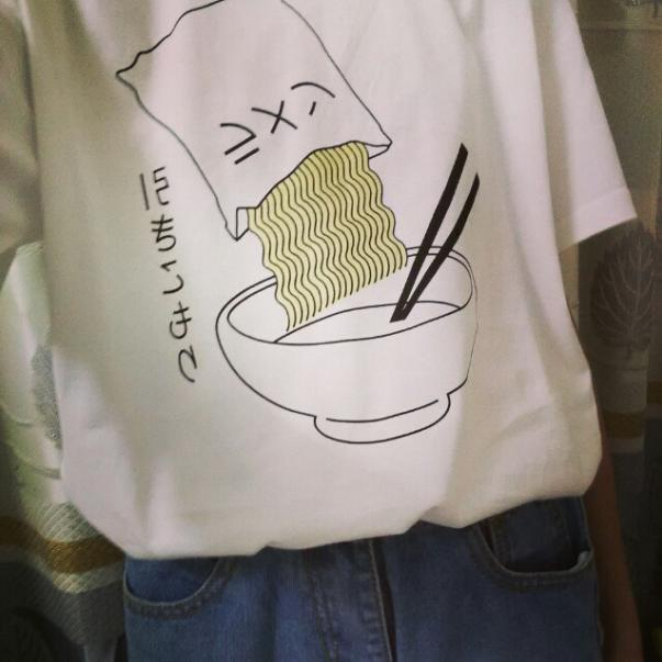 Ramen Shirt, apparel - Hazy Lines