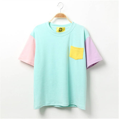 Kawaii Pastel Tee, apparel - Hazy Lines