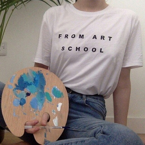 """From Art School"" Tee"