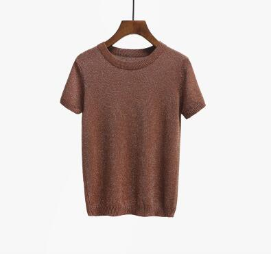 Knitted T-Shirt, apparel - Hazy Lines