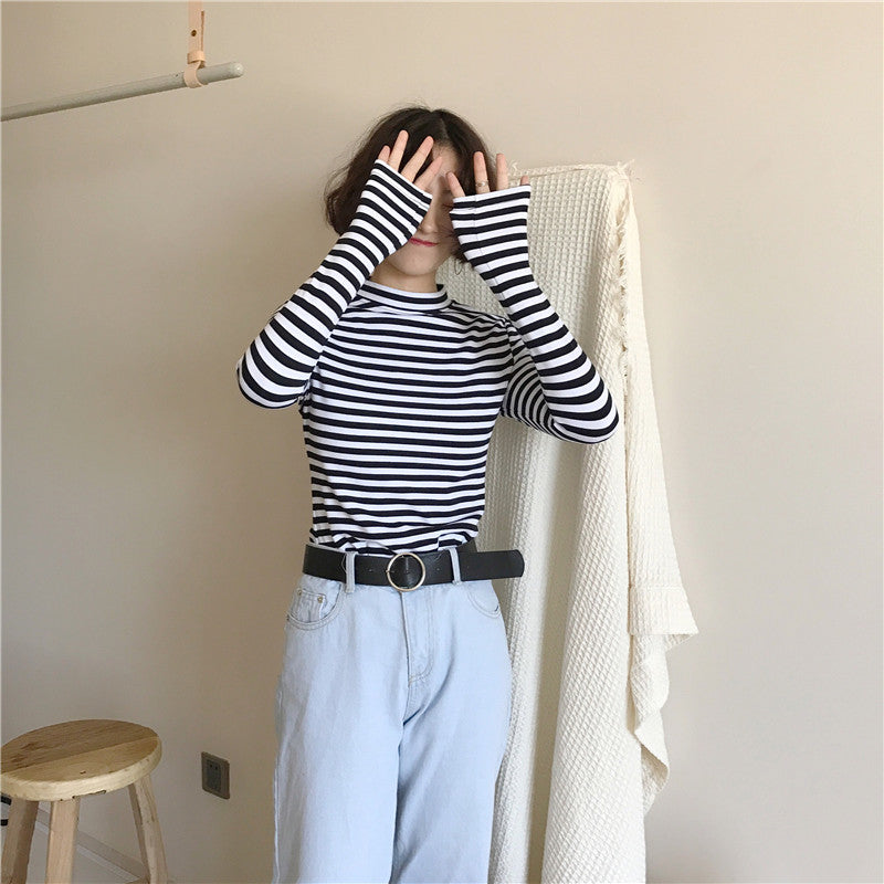 Louise Striped Long Sleeve Top