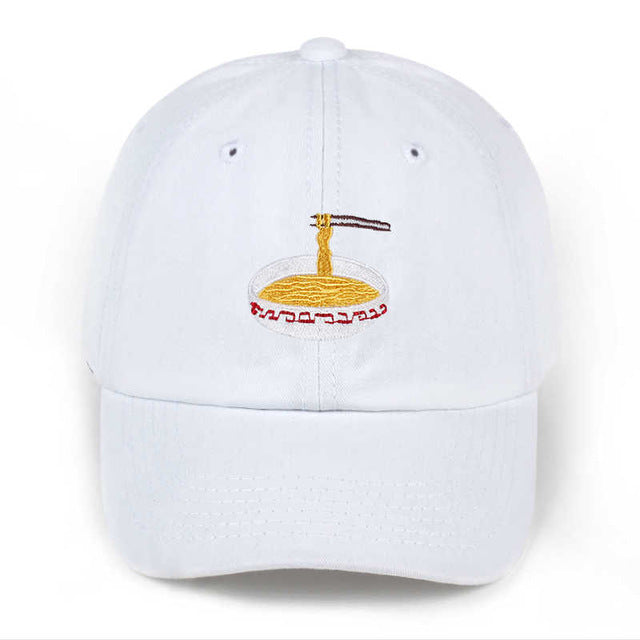 Ramen Embroidered Baseball Hat