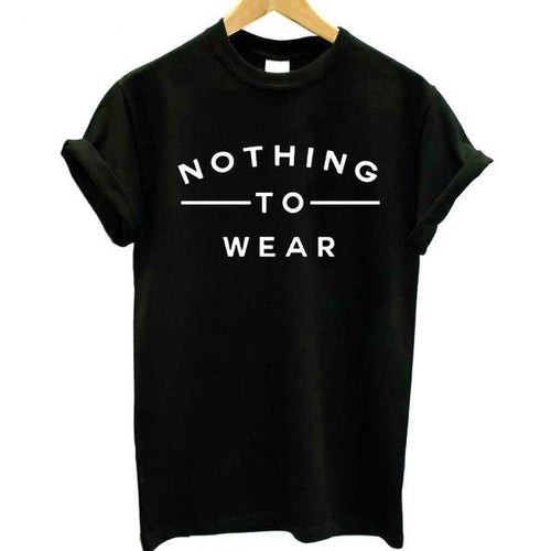 Nothing To Wear Shirt, apparel - Hazy Lines