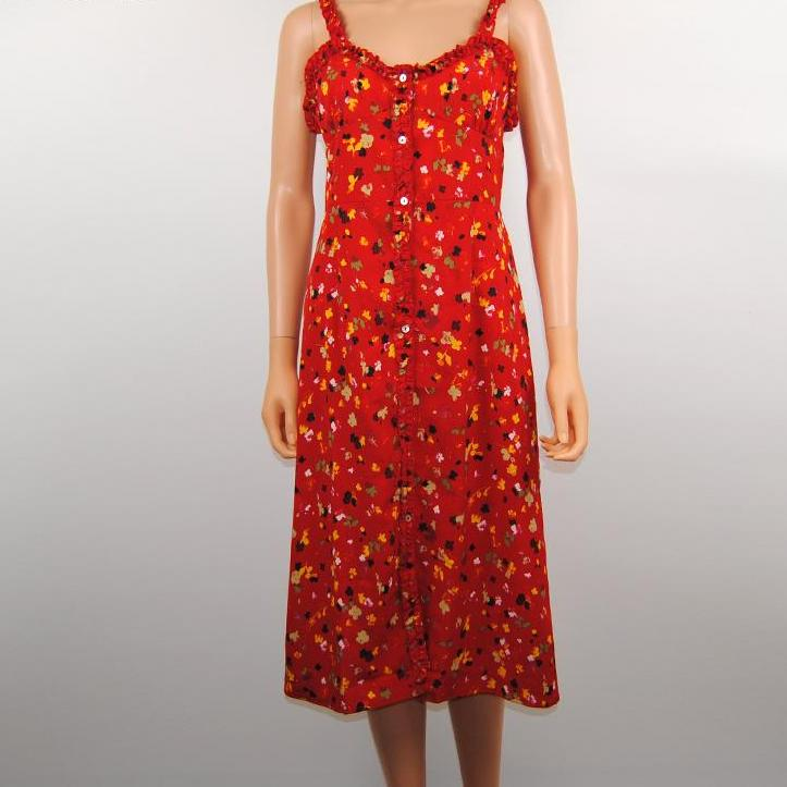 90s Floral Summer Dress, apparel - Hazy Lines