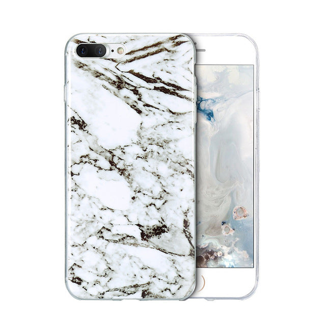 Soft Marble Case, accessory - Hazy Lines