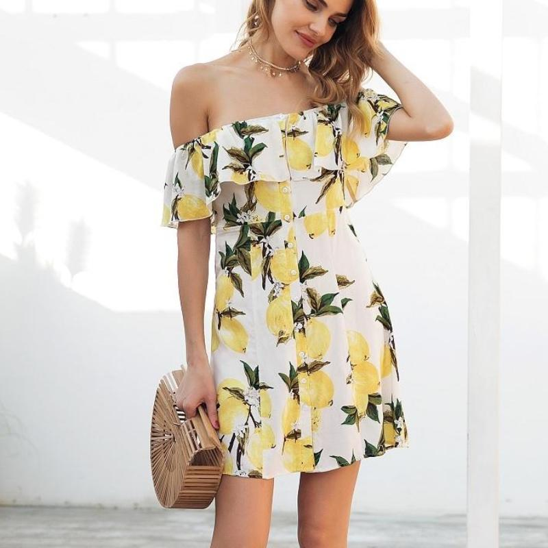 Off the Shoulder Mini Dress, apparel - Hazy Lines