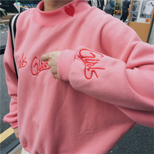 """Girls"" Harajuku Warm Sweatshirt"