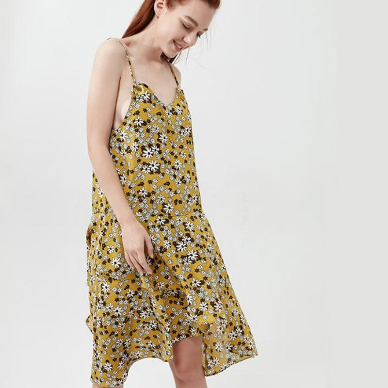 Floral Boho Summer Dress, apparel - Hazy Lines