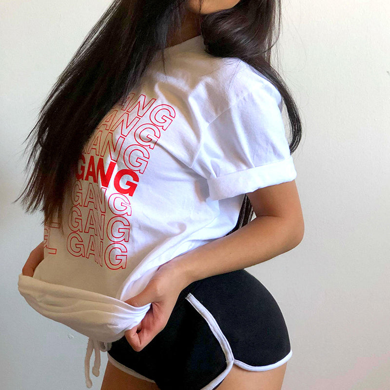 Thank You Bag Inspired Girl Gang Shirt