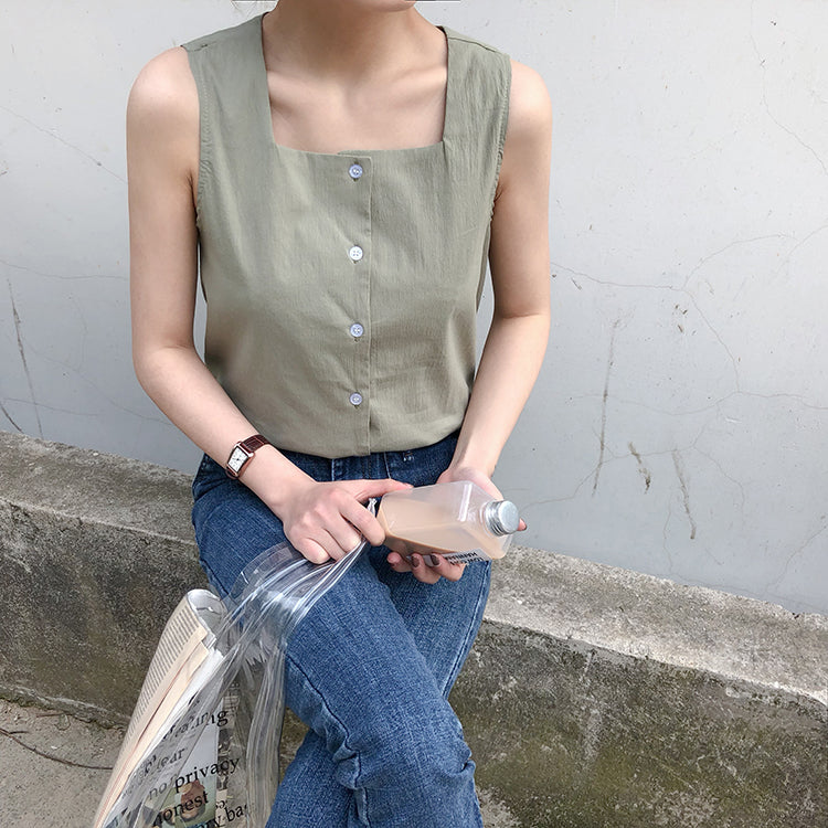 Basic Square Neck Top