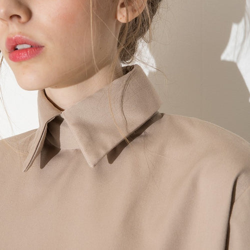 Boxy Collared Blouse