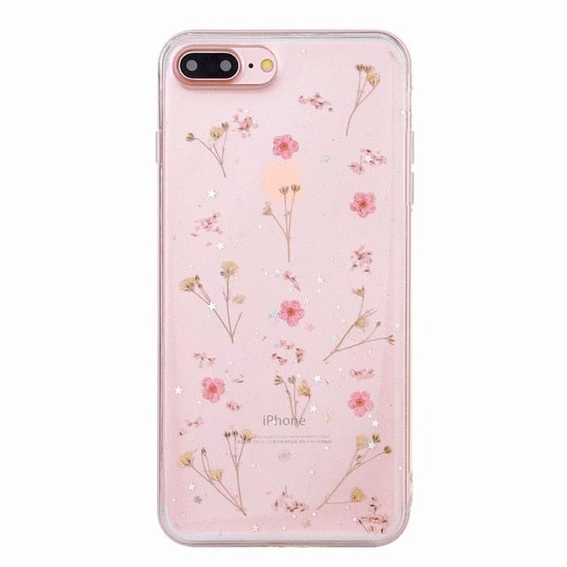 Pressed Flowers Phone Case