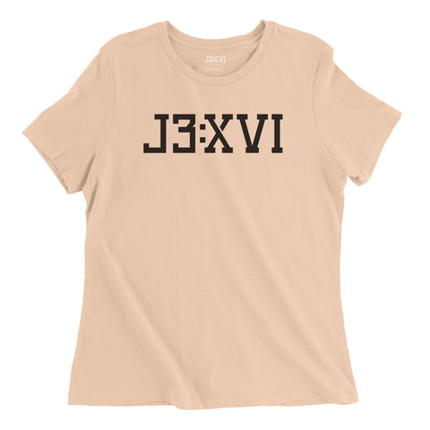 J3:XVI Ladies Tee - Available in Various Colors