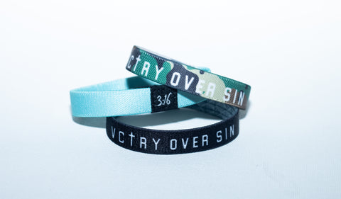 VCTRY/SIN Elastic Wristband (3-Pack)