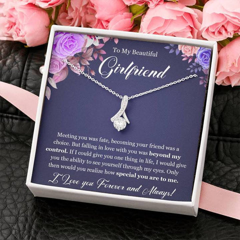 to my gf necklace
