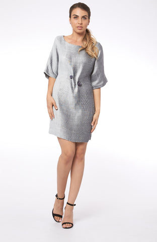 Play With The Angels in Rhodes Shirt Dress