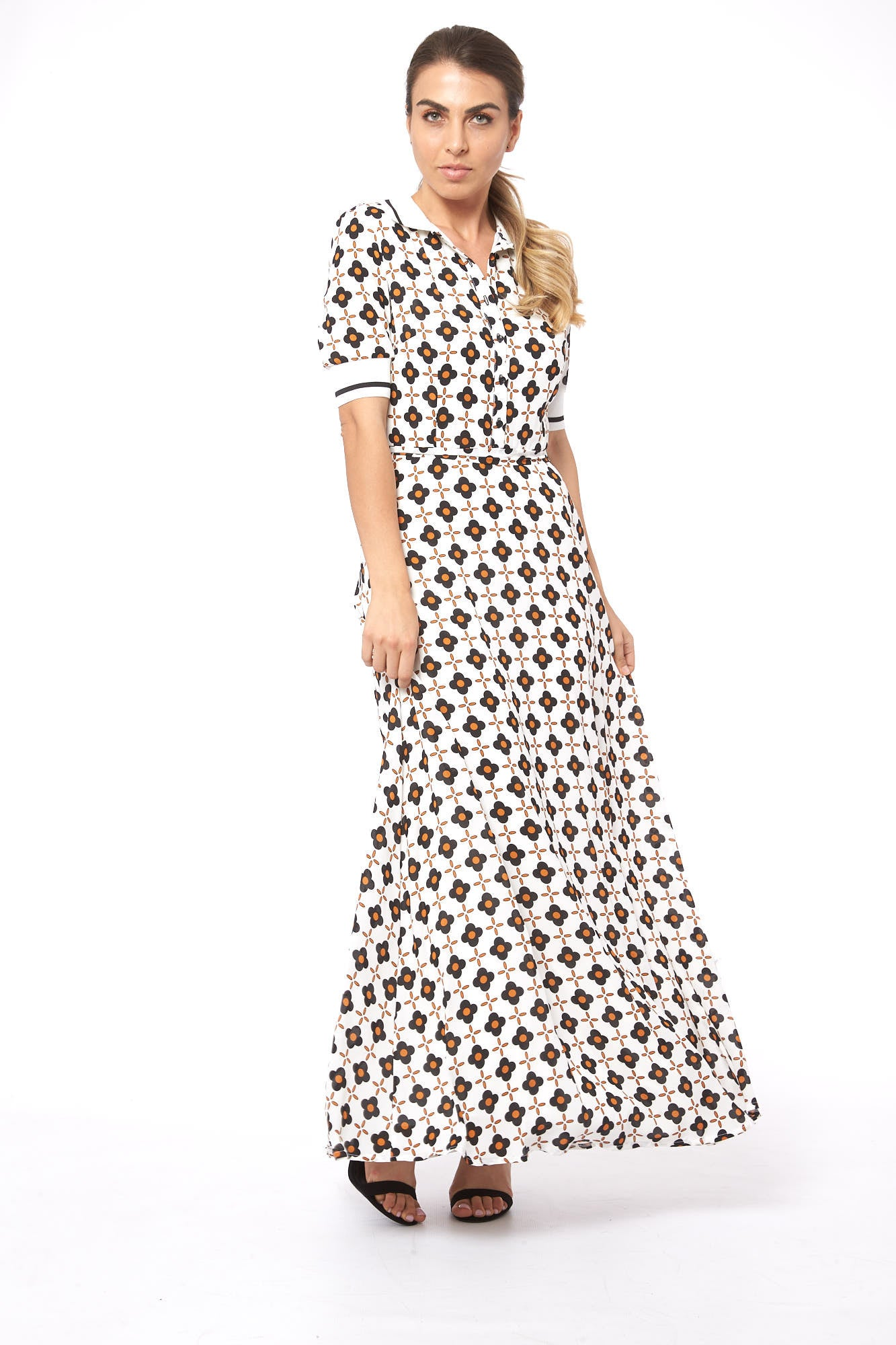 Drop It in Florence Wagoon Flower Dress