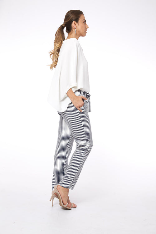 Stripe Me Down in Rome Pants