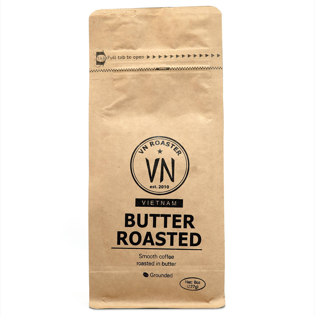 Authentic Vietnamese Butter Roast Coffee, 12 oz