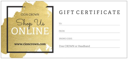 Gift Certificate - Physical