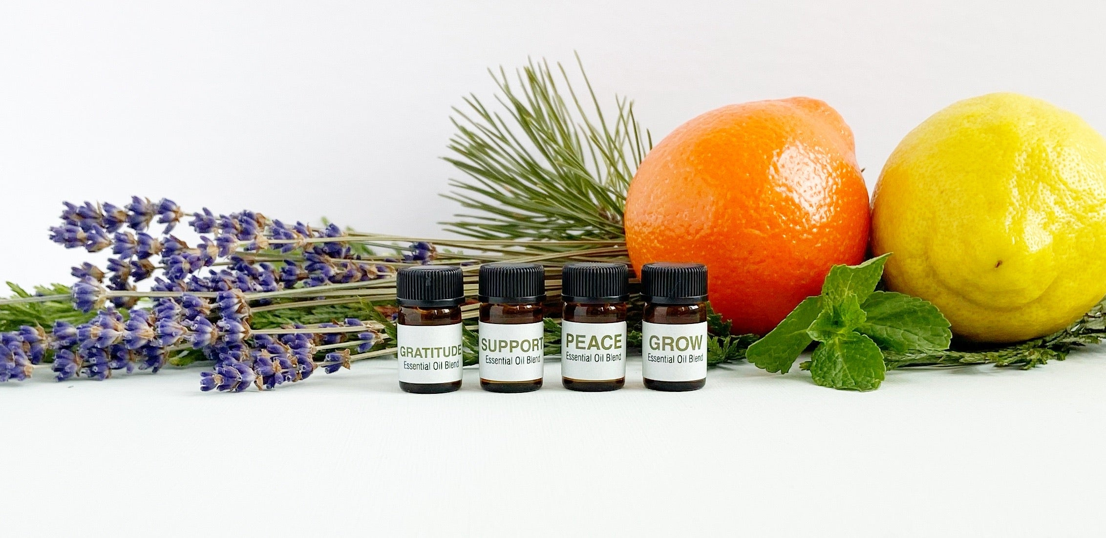 Three Peas Essential Oil Blend Collection