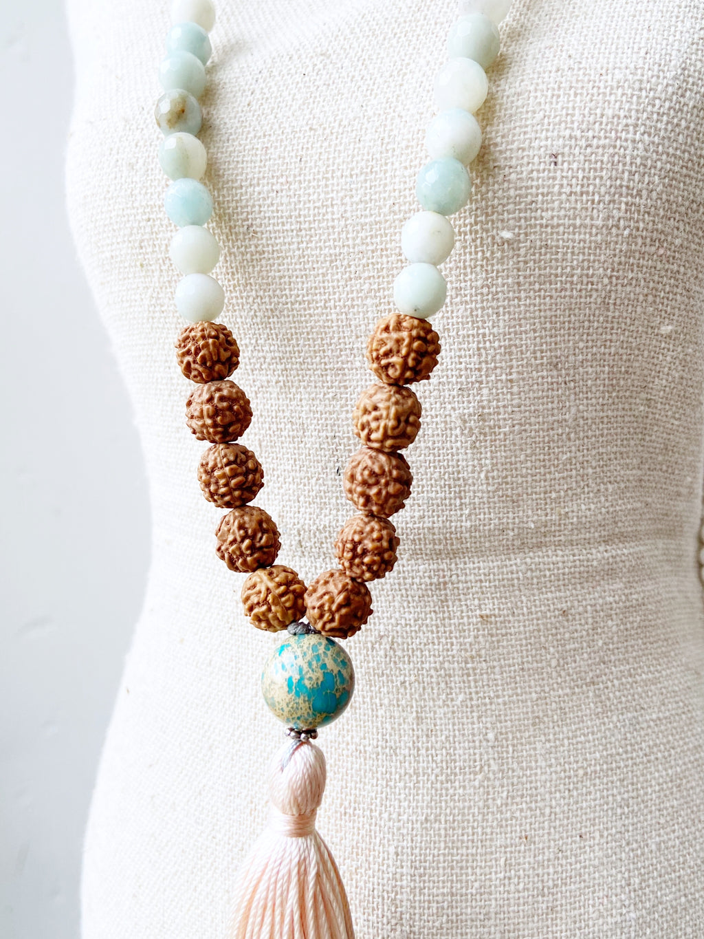Jasper & Amazonite Necklace