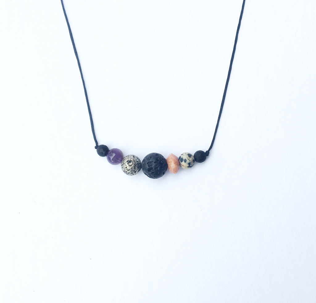 """Winter Glow"" necklace"