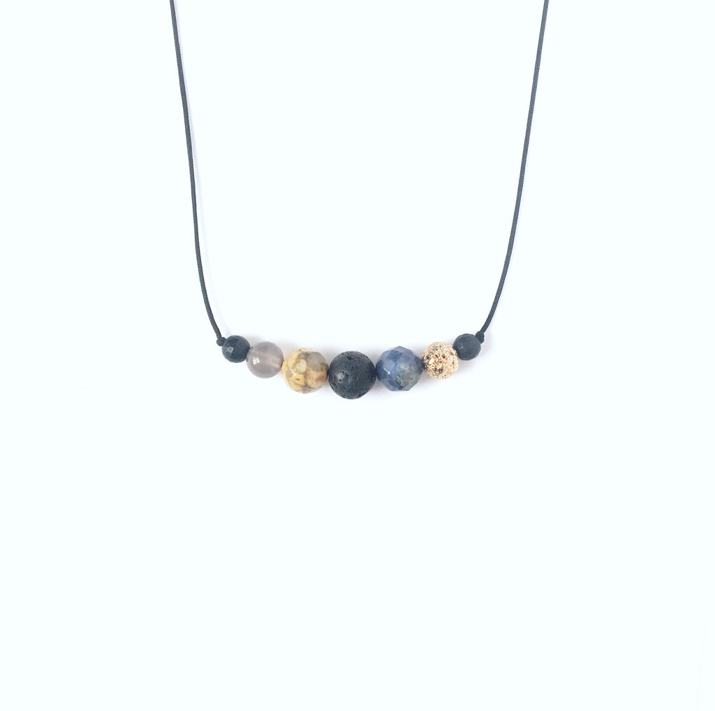 """Goldenrod"" Diffuser Necklace"
