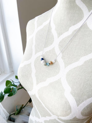 """Forget-Me-Knot"" Adjustable Diffuser Necklace"