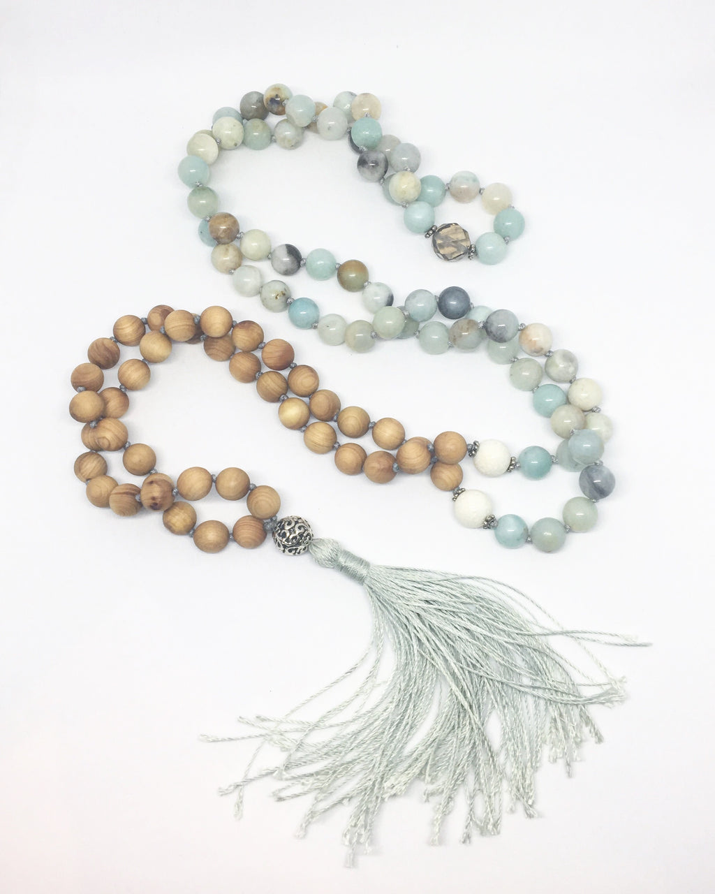 Handstrung Mala Prayer Necklace