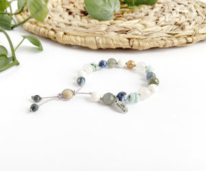 """Forget-Me-Knot"" Adjustable Diffuser Bracelet"
