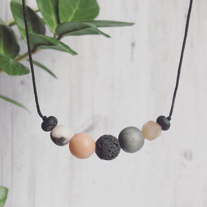 """Just Peachy"" Adjustable Diffuser Necklace"