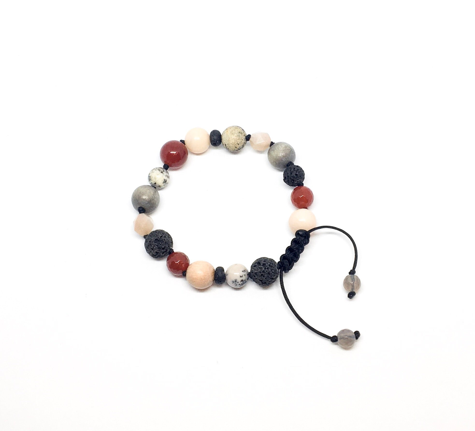 """Seeing Red"" Adjustable Diffuser Bracelet"