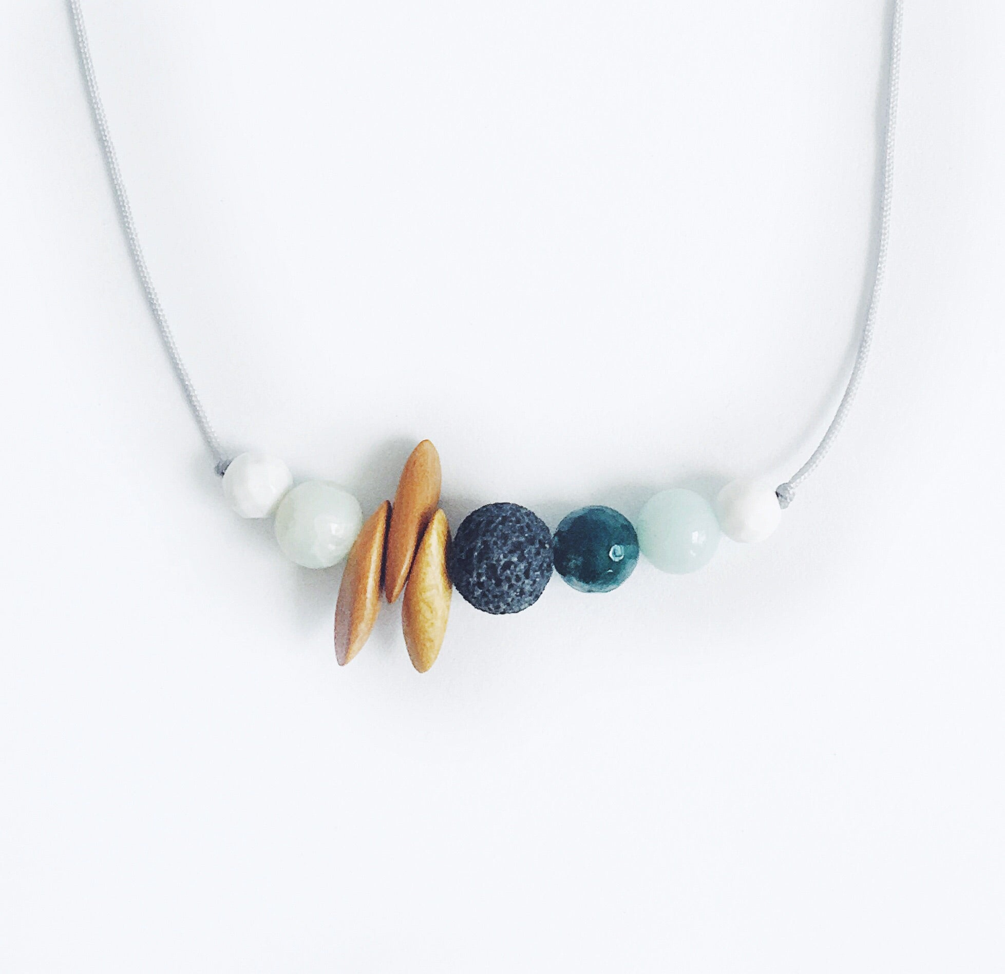 """Sunny-side Up"" Adjustable Demi Diffuser Necklace"