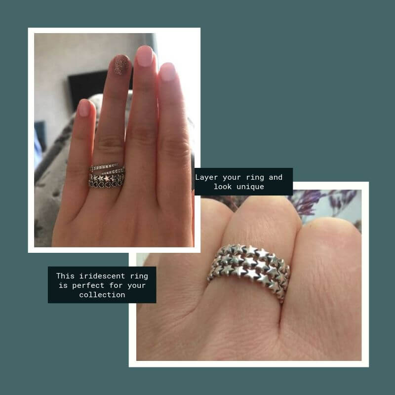 make others stackable ring envy