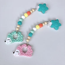 Jambu Beads non-toxic silicone jewellery & teething accessories - Joy Clip-On Teether (Hedgehog)